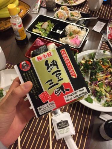 日本食も食べられる